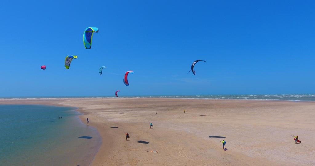 Kites in the sky, Brazil